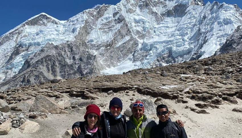 Everest Base Camp and back to Lukla by Helicopter
