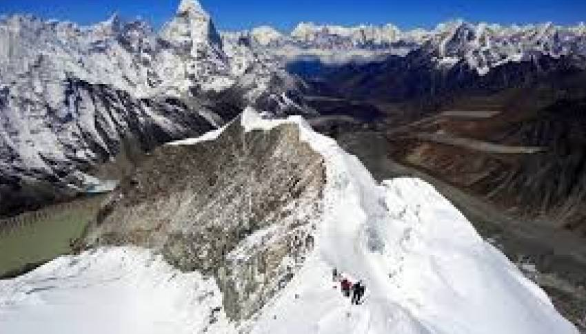 Everest Base Camp and Island Peak Climbing