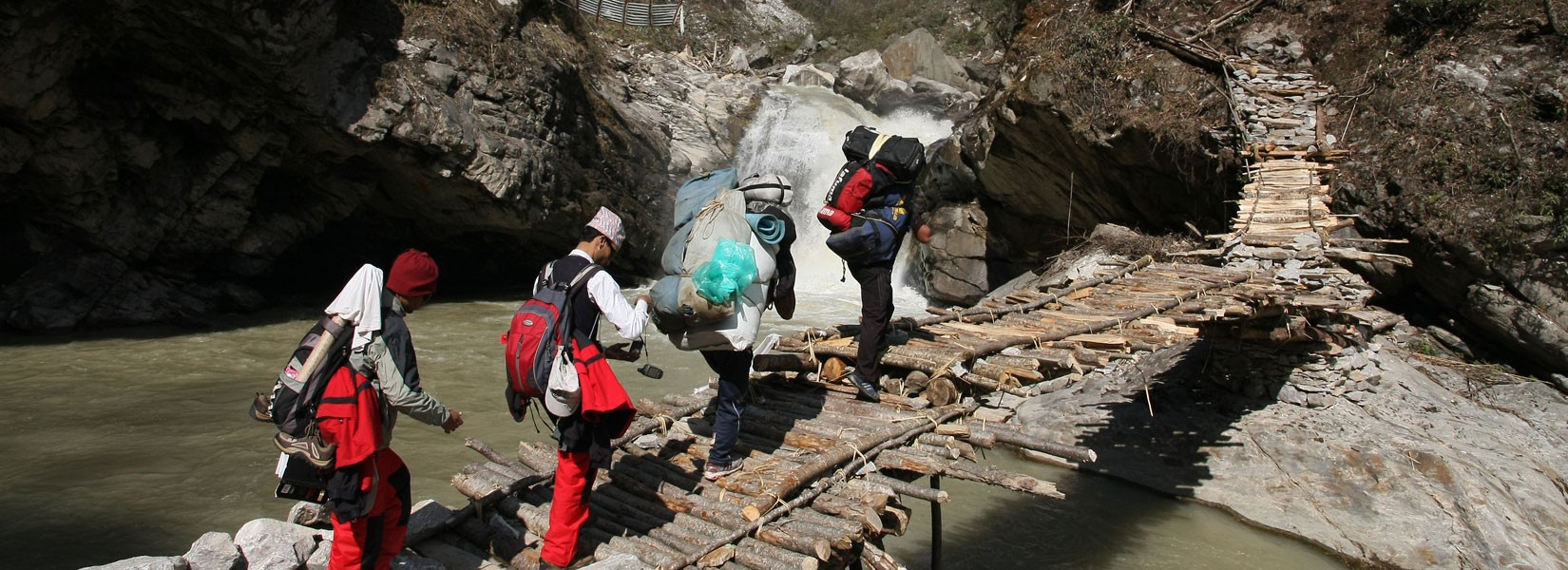 Way to Kanchenjunga Trek