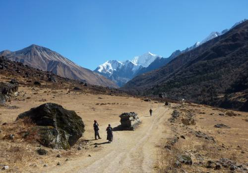 Langtanggosainkunda and Helambu Trek
